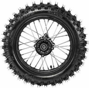 12mm 80/100-12 3.00-12 Wheel RimTire Dirt Pit Bike Honda CRF50 SSR Coolster PW80