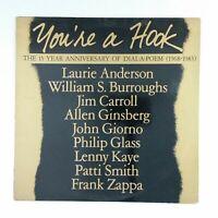 YOU'RE A HOOK Various Poetry GPSO30 Masterdisk BK LP Vinyl VG++ 1983 Spoken Word