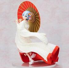 Re Zero REM Kimono white dress 1/7 Figure 240mm F:NEX Anime from JAPAN 2019