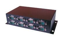 EXSYS EX-1338HM - USB 2.0 zu 8x RS-232 Ports, Metallgehäuse (FTDI Chip)