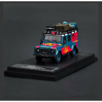 Master 1:64 Land Rover Defender 110 w/Replenishing Supplies hell-fire Car Model