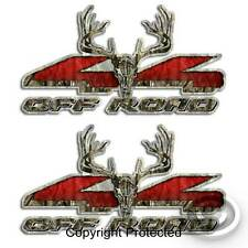 4x4 Camouflage Deer Hunting Truck Decal Set - Whitetail Sticker for Ford F-150