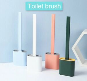 Silicone Toilet Cleaning Brush Bathroom Cleaner For Homes Housewives Shower Room