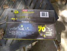 Ryobi P1811 18V Compact Drill/Driver + 2 Compact Lithium 18V Batteries + Charger