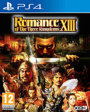 Romance Of The Three Kingdoms XIII PS4 Playstation 4 IT IMPORT TECMO KOEI