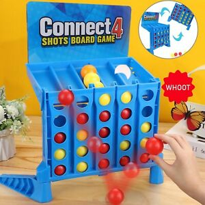 New Funny Connect 4 Shots Game Toy Bounce Em In 4 The Win Party Kids Gift UK