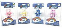 (Set of 4) World's Smallest CARE BEARS Plush Cheer - Share - Grumpy - Funshine