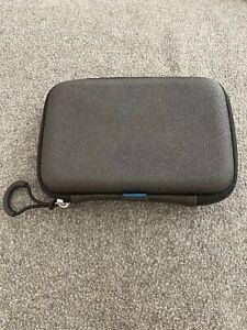 "OEM Genuine Garmin Aera Zumo 5"" GPS Hard Zipper Case Carry Case - lightly used"