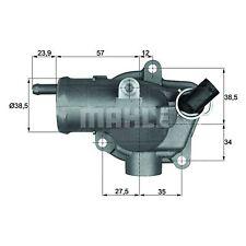Thermostat logement-MAHLE th 11 87-qualité MAHLE-véritable uk stock