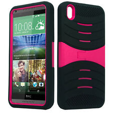 uBLACK/PINK Phone Case Cover For HTC Desire 816