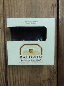 NEW BALDWIN BATH COLLECTION  PREMIUM POLISHED BRASS ROBE HOOK 3545-260