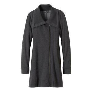 prAna Women's Mila Jacket - DARK GREY - SMALL - NEW!