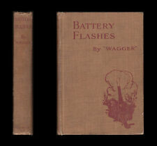 WWI 1916 'Wagger' BATTERY FLASHES Western Front FIELD ARTILLERY BRIGADE Trenches