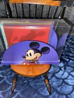 Vintage Disney Mickey Mouse Holder Desk Top Accessory set With Books And Holder