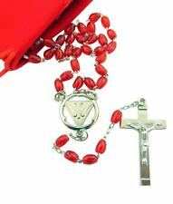 Confirmation Dove Rosary for Girls or Boys with Gift Bag Catholic Gift Set