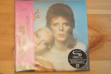 RARE David Bowie Pin UPS Mini Vinyl CD Edition TOCP Japan SHMCD