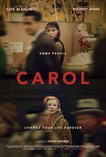"Carol movie poster (c) Cate Blanchett poster, Rooney Mara poster   11"" x 17"""