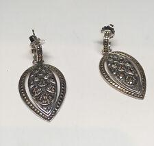 Brand New JOHN HARDY Black Saphire Nagga Earrings. FREE SHIPPING