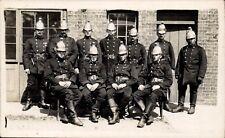 Sittingbourne photo. Fire Brigade Officers by A.E.Ferris, Sittingbourne.