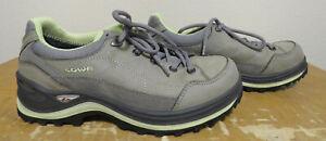 LOWA Womens 7 RENEGADE III GTX LO WS Black And Green 320960 9005 Goretex Shoes