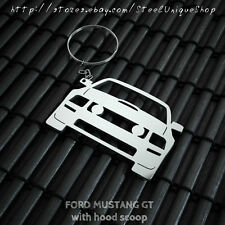 Ford Mustang GT Stainless Steel Keychain