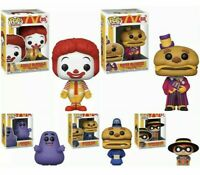 Funko Pop! 5 Five-Pack Bundle McDonald's Ad Icons NEVER OPENED - IN HAND - MINT
