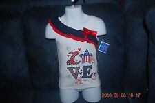 """Very Cute Girl's """"One Shoulder Top"""" Size 2T (Brand New)"""