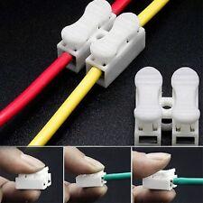 20Stk 2 Pin Kabel LED Strip Verbinder Schnellverbinder mit einer Klemme APA Pop