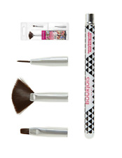 Bourjois Multi-Brush Nail Art kit Fan Brush, Shader & Liner Brush 3 brush set