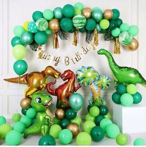 Dinosaur Birthday Party Decorations Dinosaur Balloons set Boys Birthday Theme