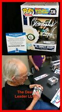 Christopher Lloyd Signed Doc Brown Back To Future Autograph Funko POP BAS PSA