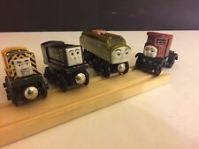 5 Piece Thomas the Train Diesel Engines & Track Set Brio Compatible Elizabeth +
