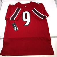 Adidas Louisville Cardinals Football Jersey #9 Youth Size Medium
