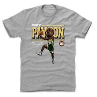 Gary Payton Seattle Supersonics 500 Level NBA HWC Cartoon T-Shirt - Grey