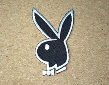 BUNNY PLAYBOY RABBIT KIDS CARTOON Embroidered Patch Iron Sew LOGO HARDCORE