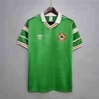 1988 Ireland Home Retro Soccer Jersey