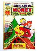 Vintage 1975 RICHIE RICH  MONEY WORLD  #19 comic book Harvey Comics