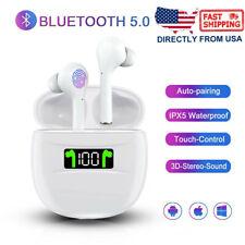 Wireless Bluetooth 5.2 Earbuds Earphone In-Ear Stereo Sweatproof Headphone Tws