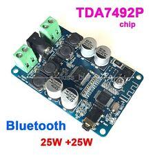 TDA7492P 25Wx2 Wireless Bluetooth Audio Receiver Digital Amplifier Board 12v 24v
