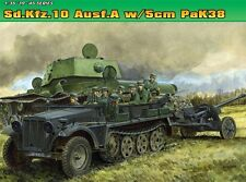 DRAGON 6732 Maquette Sd.Kfz.10 Ausf.A et 5cm Pak 38