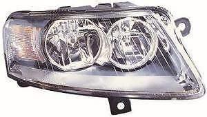 Audi A6 Headlight Unit Driver's Side Headlamp Unit 2009-2011