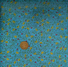 The Quilting Bug for Henry Glass 1543/13 Blue 100% Cotton Fat Quarter