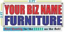 CUSTOM NAME FURNITURE Banner Sign NEW Larger Size Best Quality for the $$$