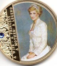 Princess Diana gold Coun With Jewel