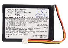 Battery for MAXELL Edinburgh ICP653443, TOMTOM  One XL, XL 325, F724035958