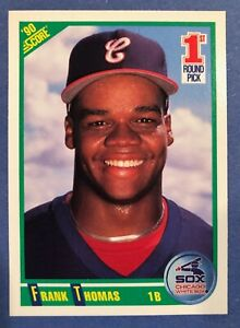 Baseball Cards Birthday Gift for Him White Sox Gift 1990 Score Frank Thomas ROOKIE CARD Chicago White Sox Gifts for Men