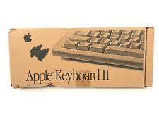 BRAND NEW Vintage Apple Keyboard II Macintosh IIgs ADB Apple Desktop Mac M0487