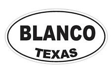 Blanco Texas Sticker Vinyl Decal 4-260