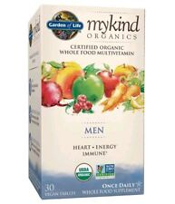 Garden of Life Mykind Organics Men One A Day Multivitamin Tablets, 30 Count