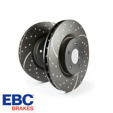 EBC Brakes GD Series Slotted And Dimpled Sport Front Brake Discs - GD580